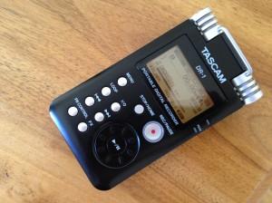 Tonaufnahme: Ideal für Audio bei Videoufnahmen mit DSLR-Kameras: Tascam DR-1