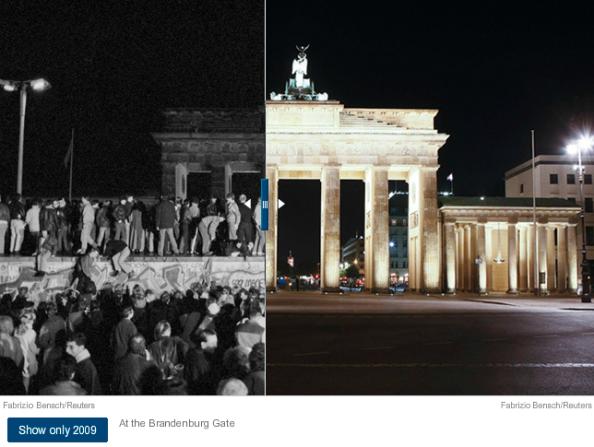 NYT, Berliner Mauer