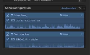 Audio eines DSLR-Videos mit zweiter Audioquelle in FCPX synchronisieren
